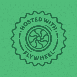 Affiliate-Badge Flywheel WordPress hemsida